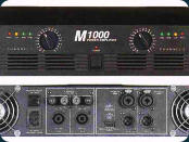 InterM M-1000, Power-Amps